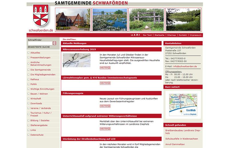 Samtgemeinde Schwaförden